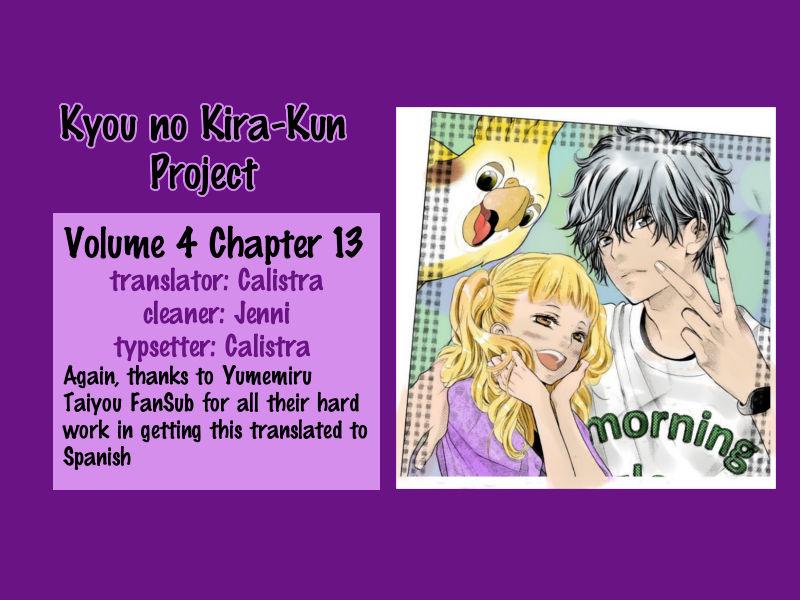Kyou no Kira-kun 13 Page 1