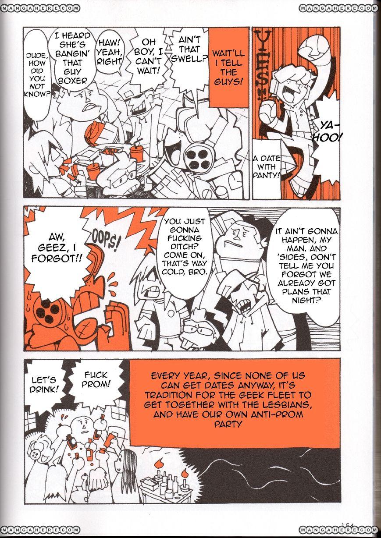 Panty & Stocking with Garterbelt in Manga Strip 3 Page 2