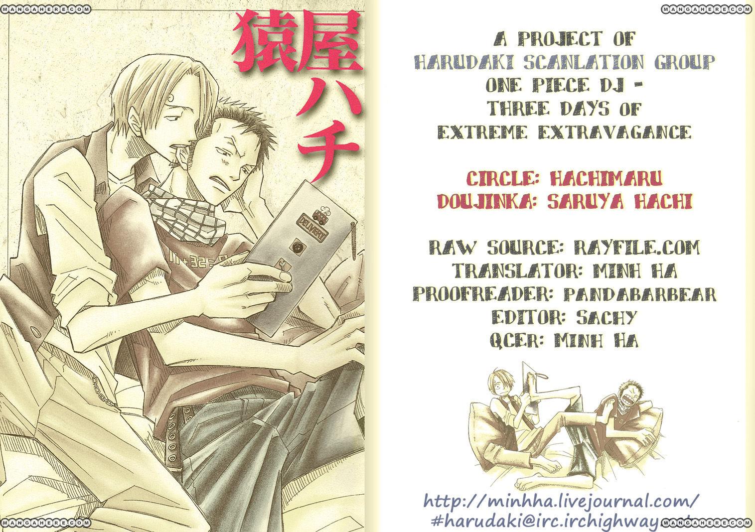 One Piece dj - Three Days of Extreme Extravagance 1 Page 2