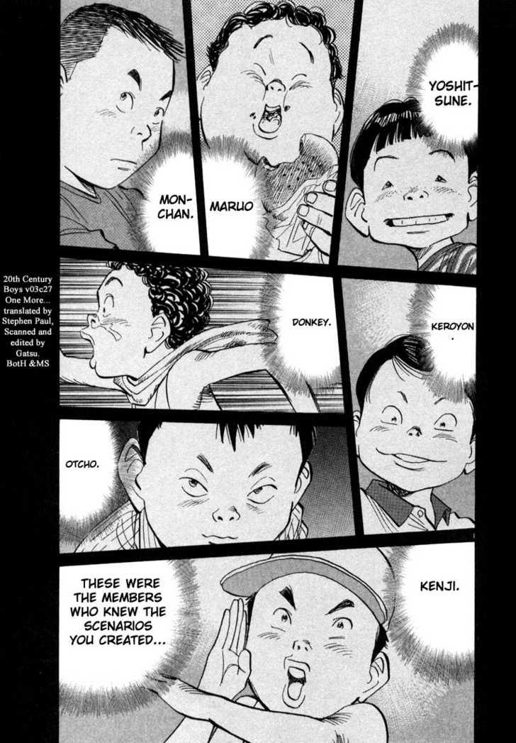 20th Century Boys 6 Page 1