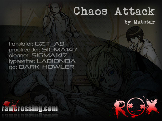 Chaos Attack 3 Page 1