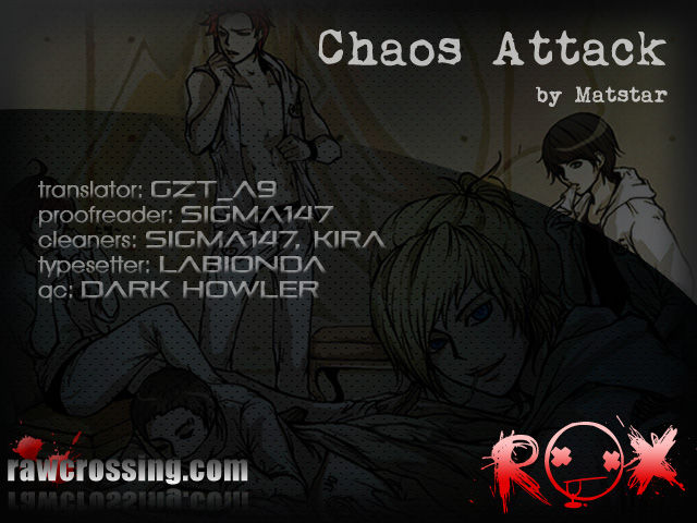 Chaos Attack 5 Page 1