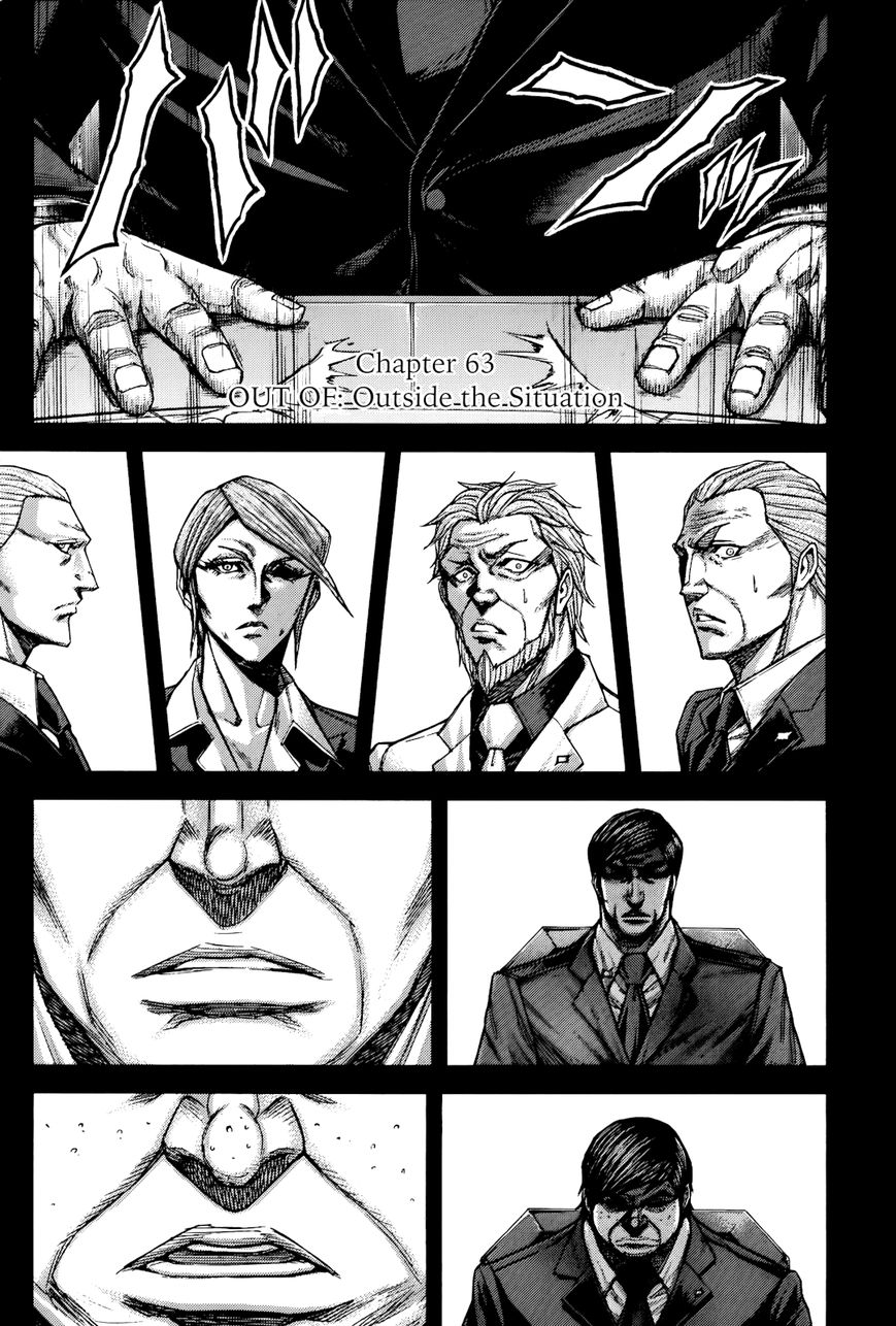 Terra Formars 63 Page 1