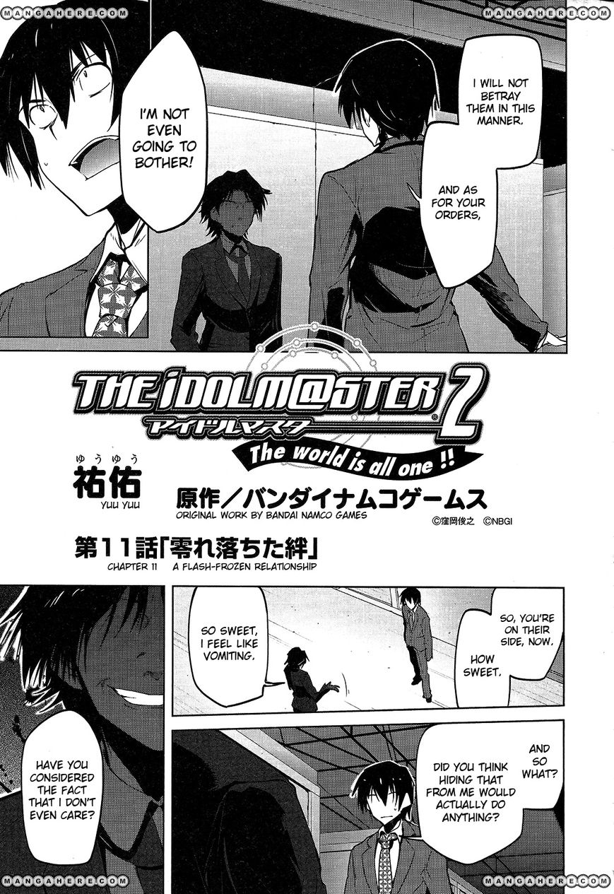 The Idolm@ster 2: The World Is All One!! 11 Page 1