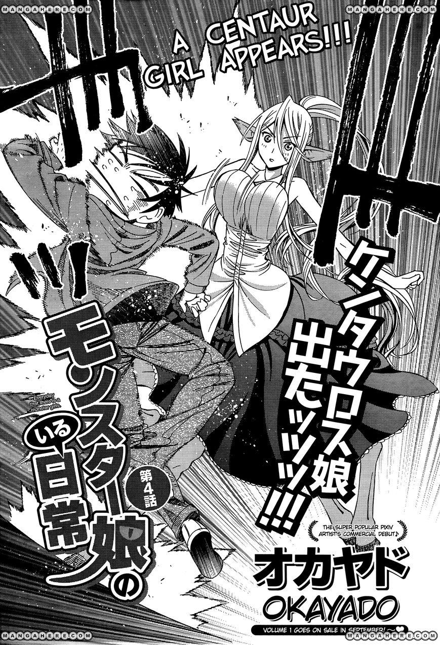 Monster Musume no Iru Nichijou 4 Page 2
