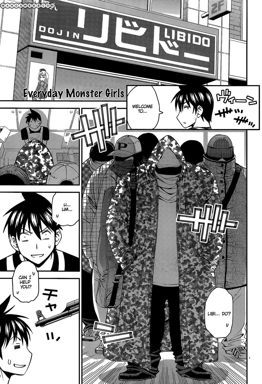 Monster Musume no Iru Nichijou 11 Page 1