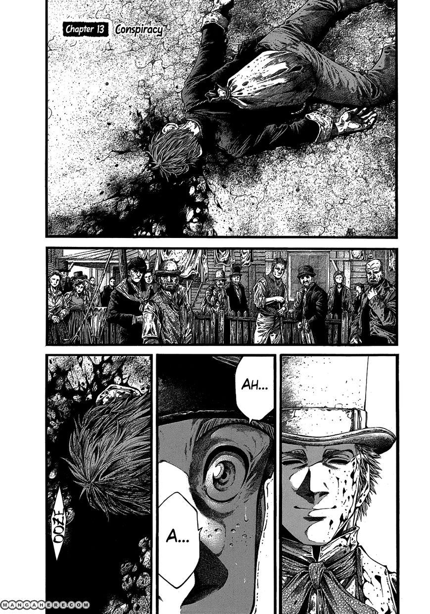 Green Blood 13 Page 1