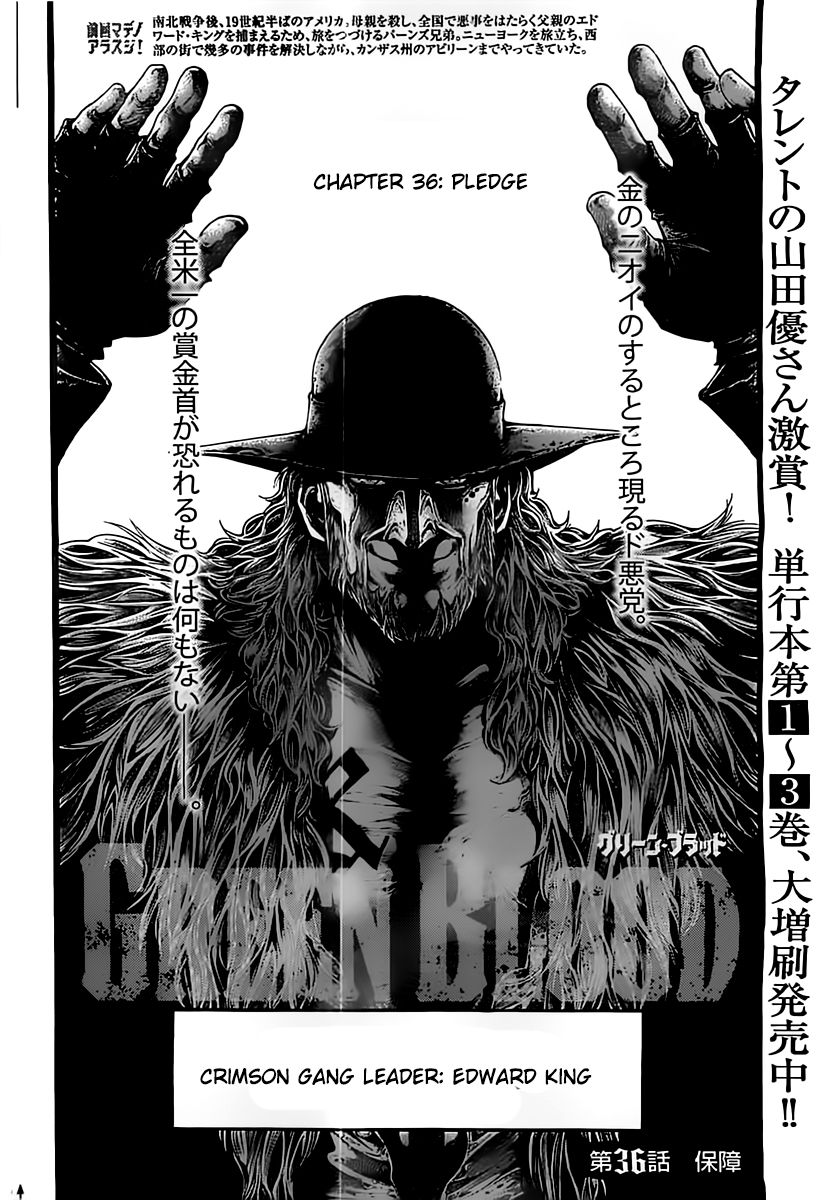 Green Blood 36 Page 2