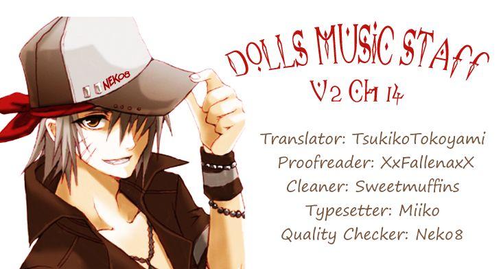 Dolls Music Staff 14 Page 1