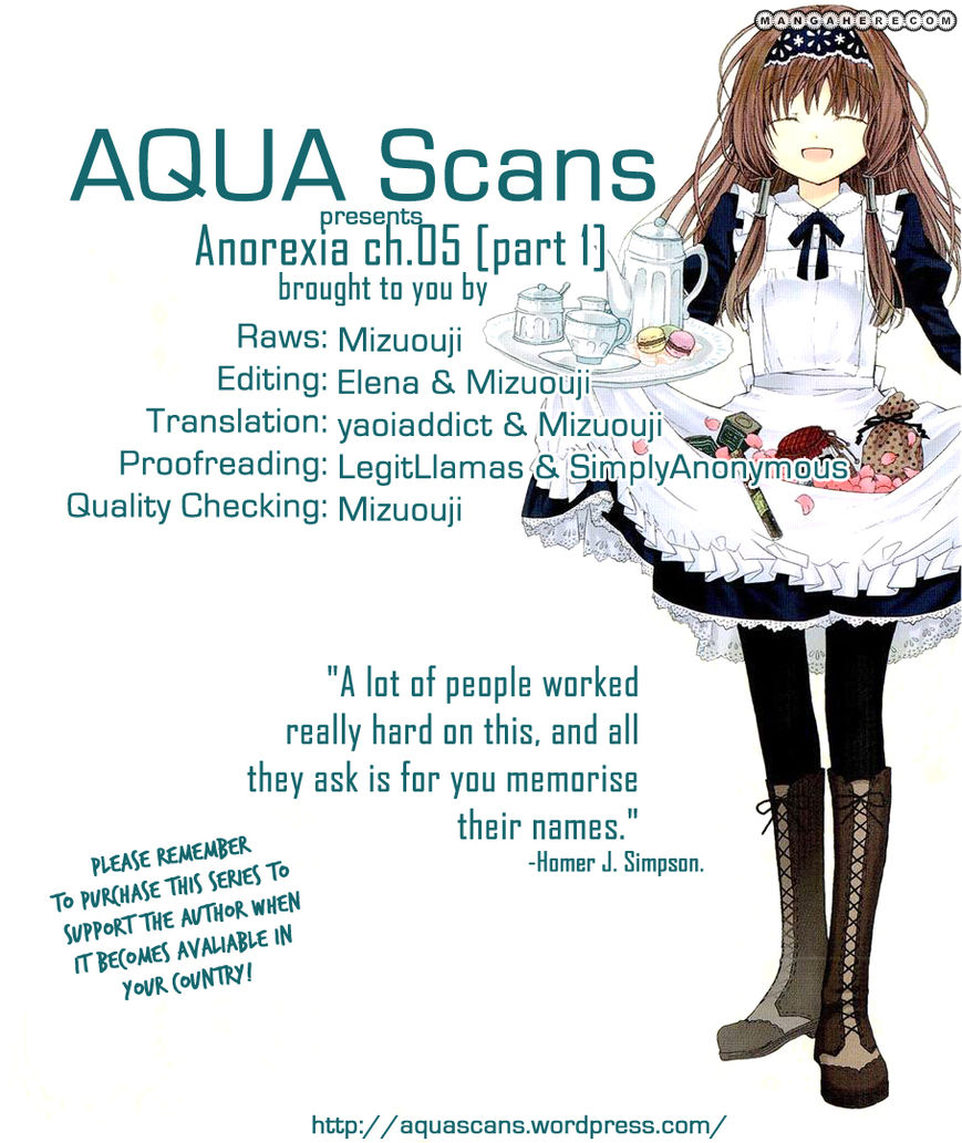 Anorexia - Shikabane Hanako wa Kyoshokushou 5.1 Page 1