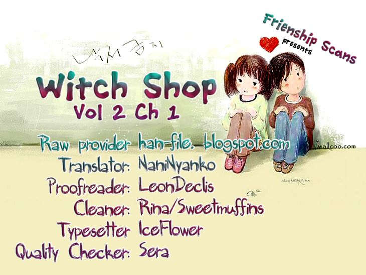 Witch Shop 5 Page 1