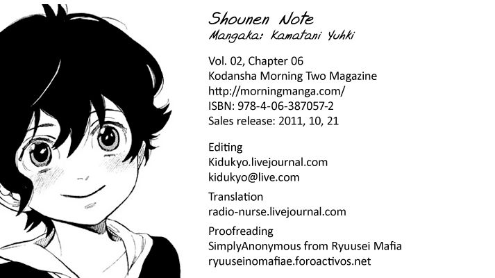 Shounen Note 6 Page 2