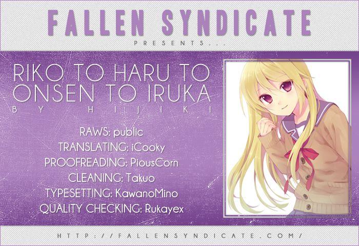 Riko to Haru to Onsen to Iruka 6 Page 1
