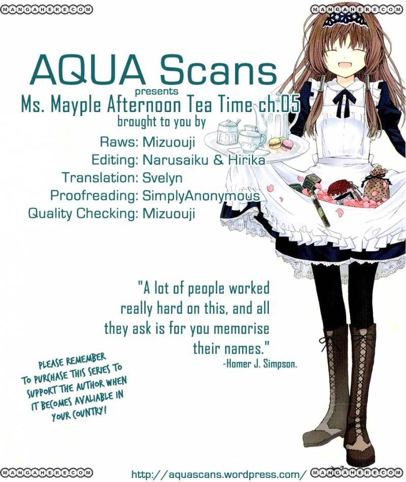 Mayple-san no Koucha Jikan 5 Page 1
