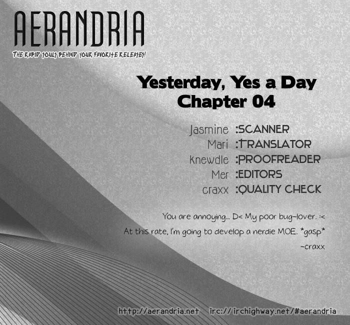 Yesterday, Yes a Day 4 Page 3