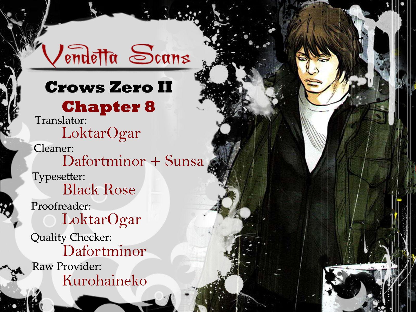 Crows Zero II: Suzuran x Houen 8 Page 1