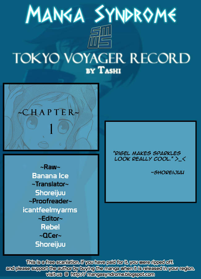 Tokyo Voyager Record 1 Page 2