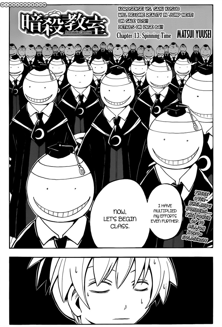 Ansatsu Kyoushitsu 13 Page 3