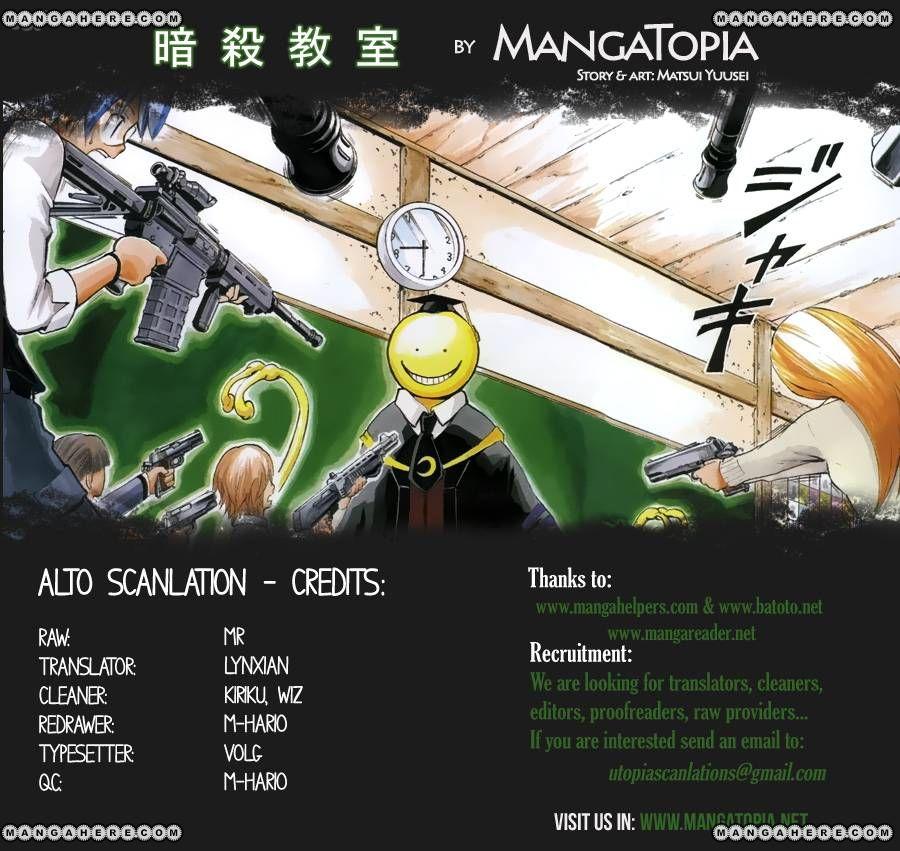 Ansatsu Kyoushitsu 29 Page 1