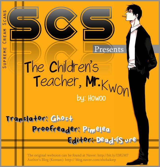 The Children's Teacher, Mr. Kwon 9 Page 1