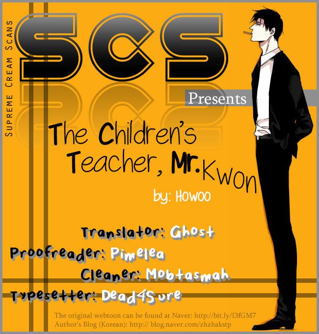 The Children's Teacher, Mr. Kwon 14.5 Page 1