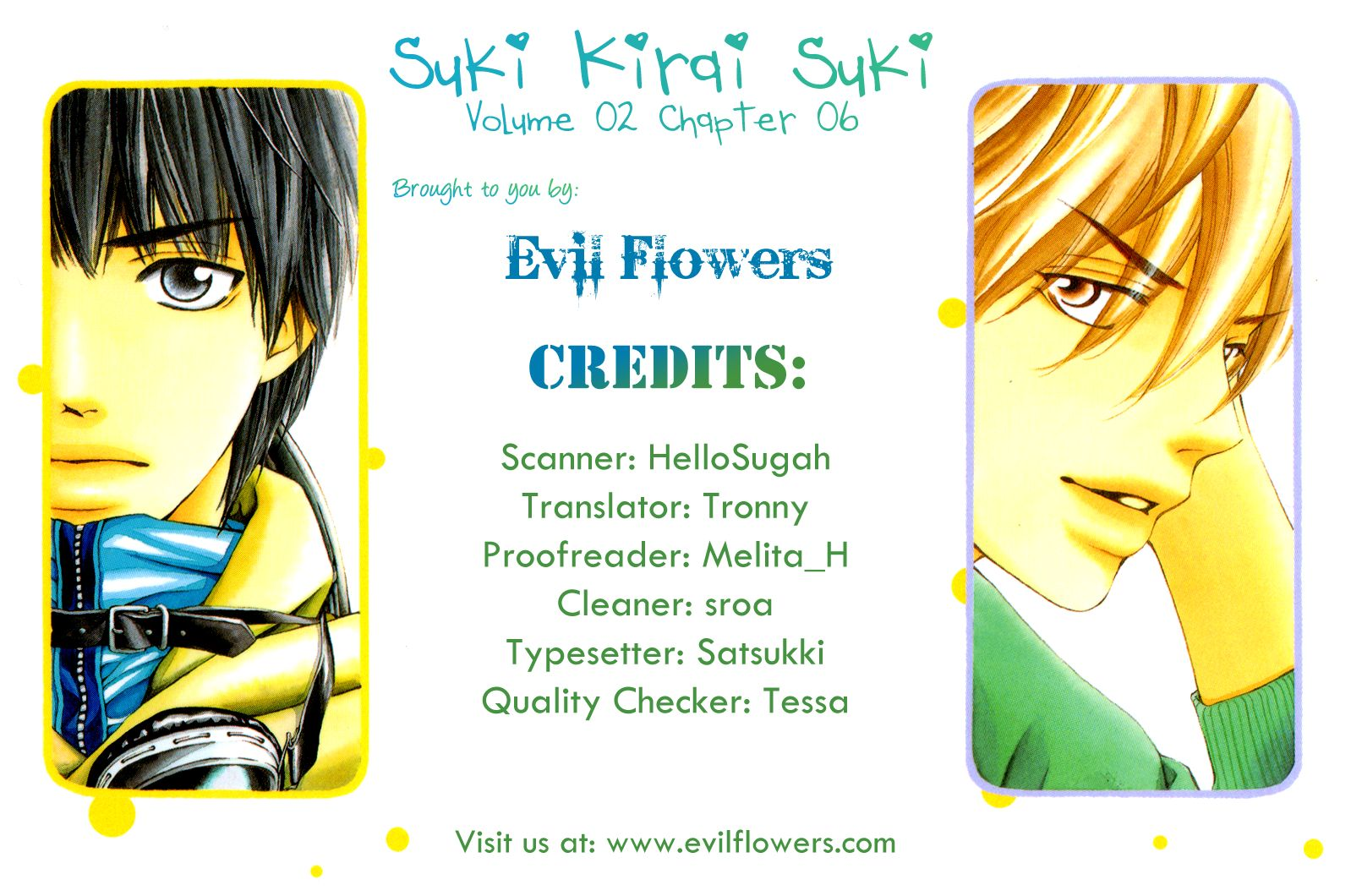 Suki Kirai Suki (TSUKISHIMA Haru) 6 Page 1