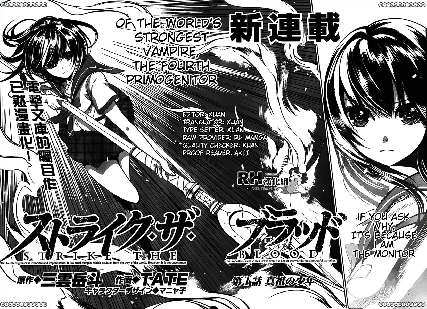 Strike the Blood 1 Page 2