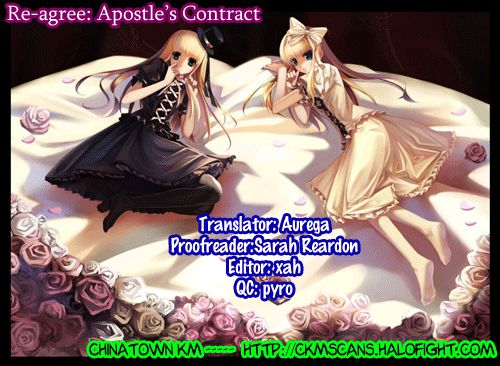Re-agree: Apostle's Contract 2 Page 1
