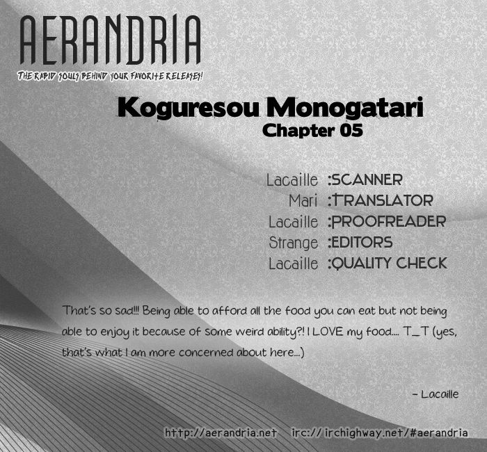 Koguresou Monogatari 5 Page 2