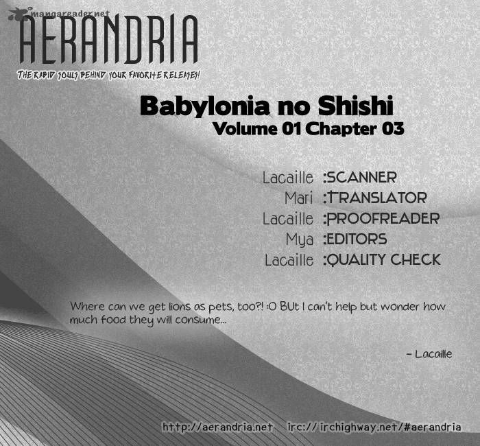 Babylonia no Shishi 3 Page 2