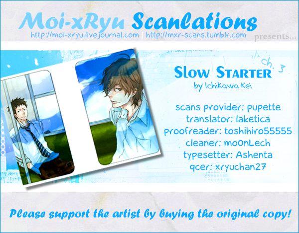 Slow Starter (ICHIKAWA Kei) 3 Page 2