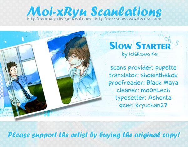 Slow Starter (ICHIKAWA Kei) 5 Page 2