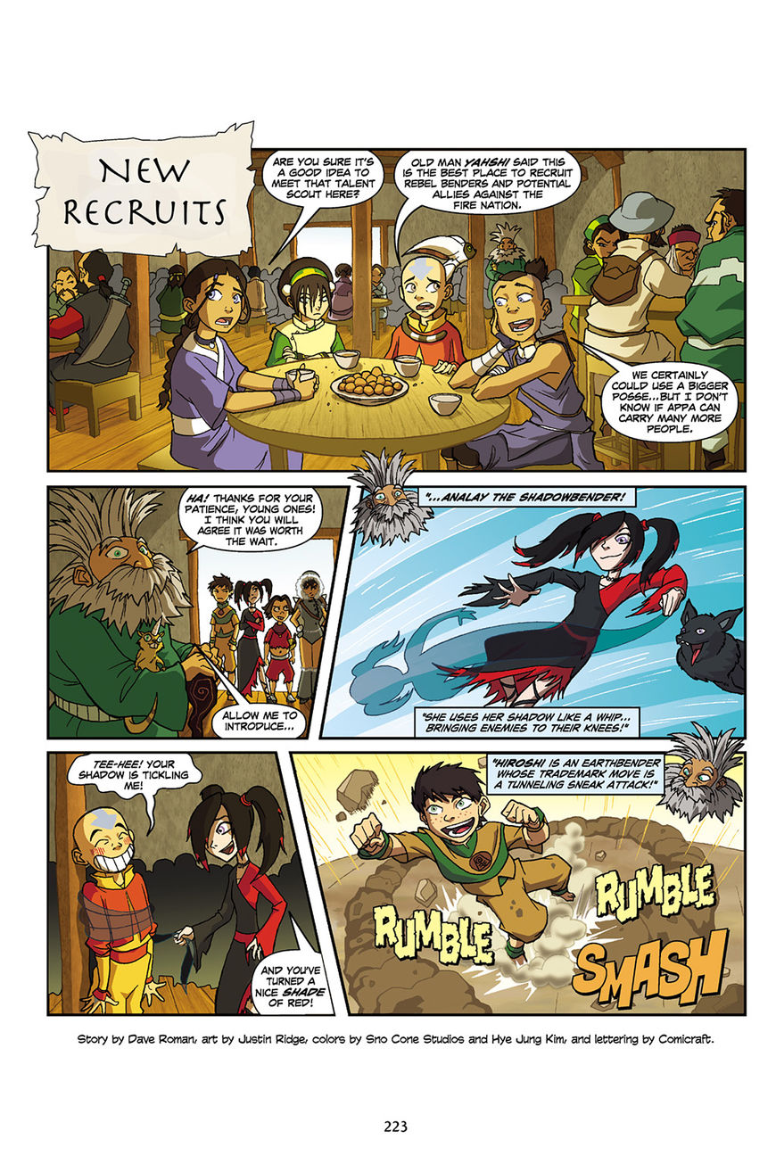 Avatar: The Last Airbender - The Lost Adventures 4 Page 3