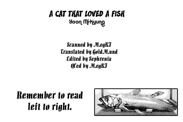 A Cat That Loved A Fish 0 Page 1