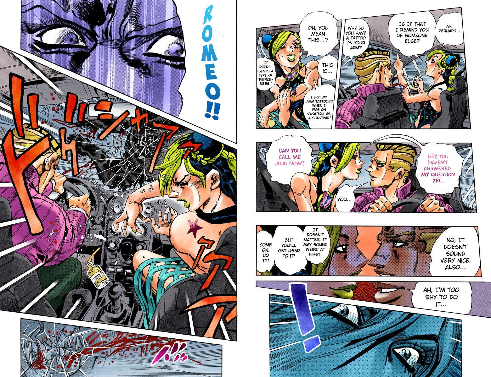 JoJo's Bizarre Adventure Part 6: Stone Ocean 2 Page 3