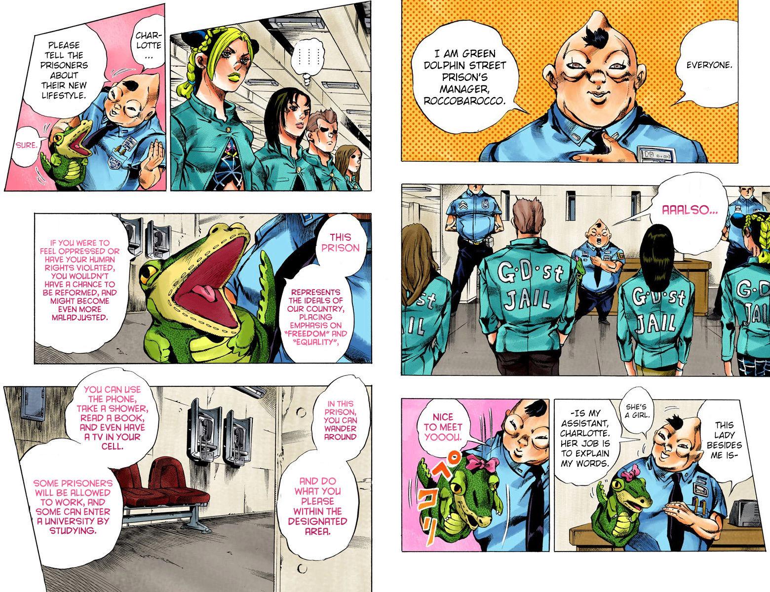JoJo's Bizarre Adventure Part 6: Stone Ocean 4 Page 3