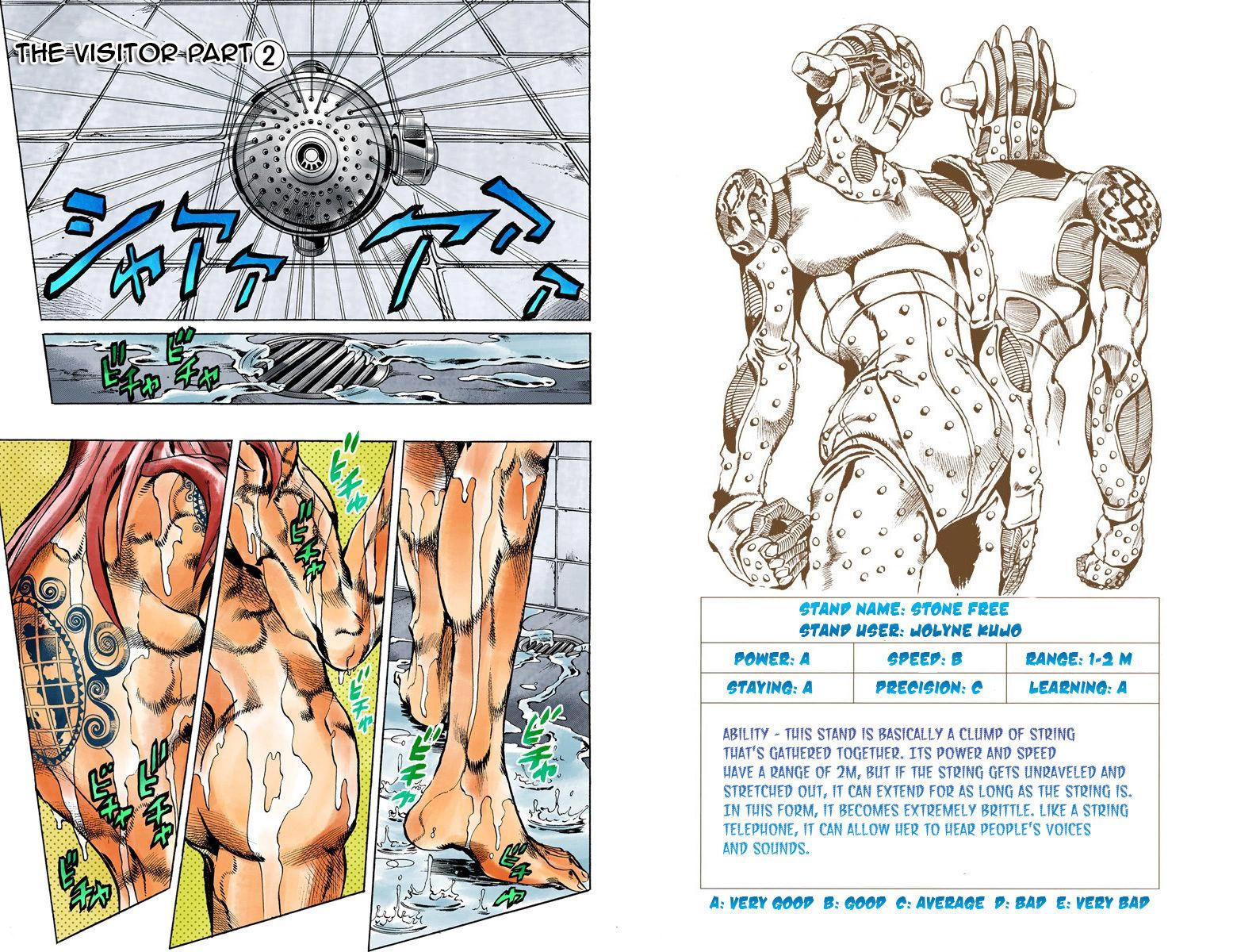 JoJo's Bizarre Adventure Part 6: Stone Ocean 12 Page 1