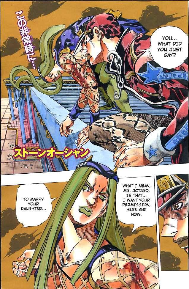 JoJo's Bizarre Adventure Part 6: Stone Ocean 151 Page 2