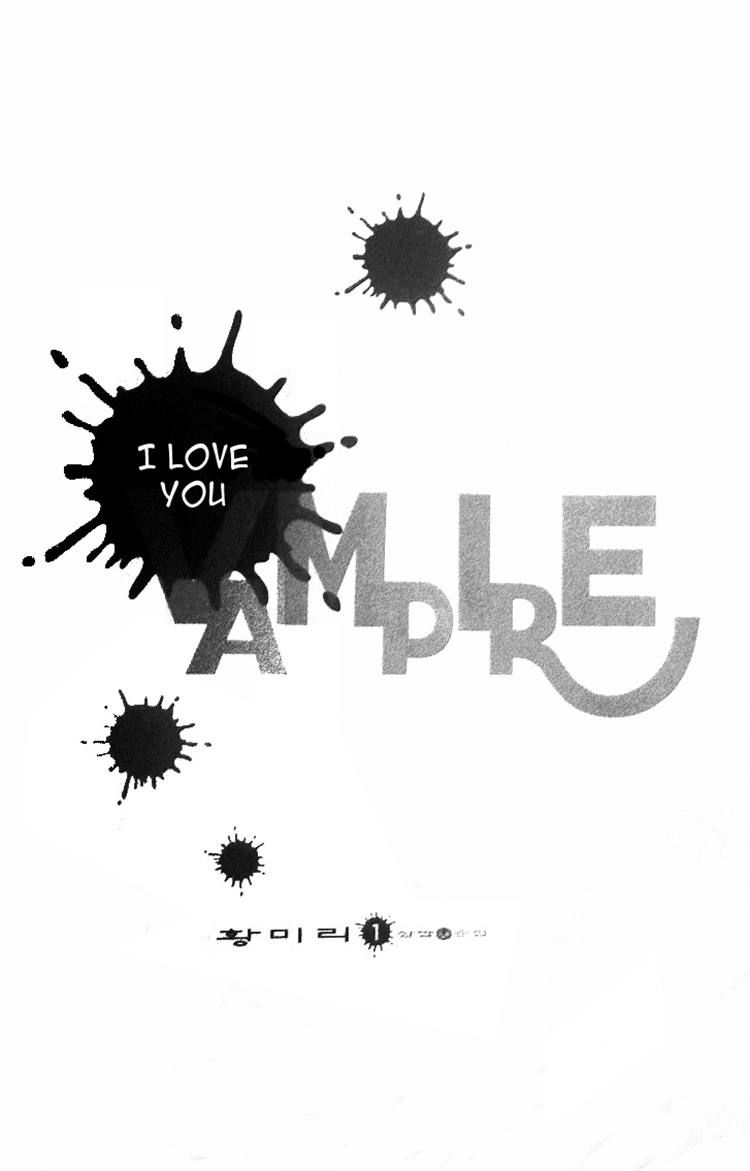 I Love You, Vampire 1 Page 3