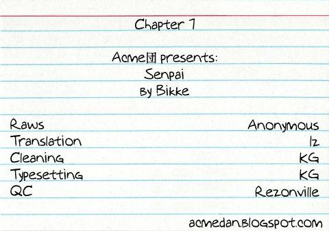 Senpai 7 Page 1