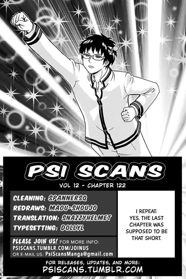 Saiki Kusuo no Psi Nan 122 Page 1