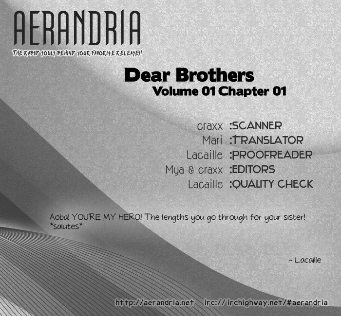 Dear Brother! 1 Page 2