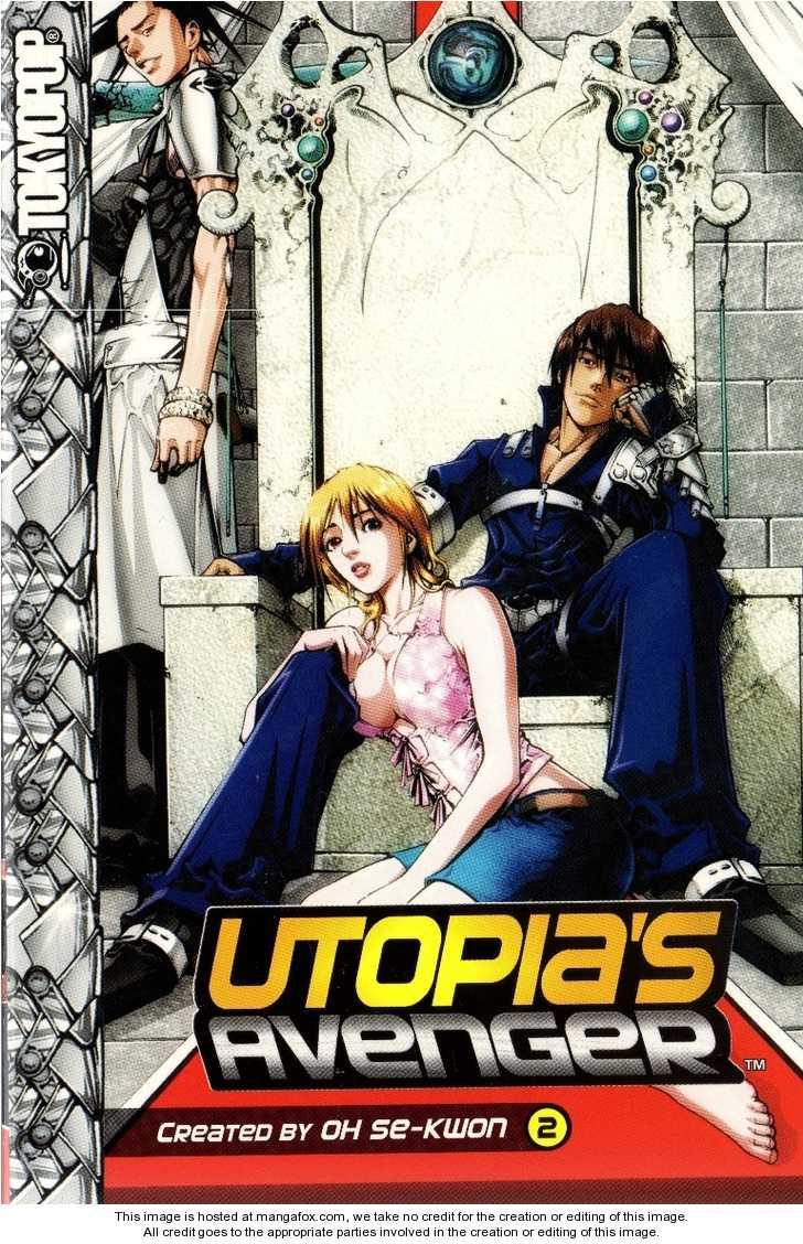 Utopia's Avenger 8 Page 1