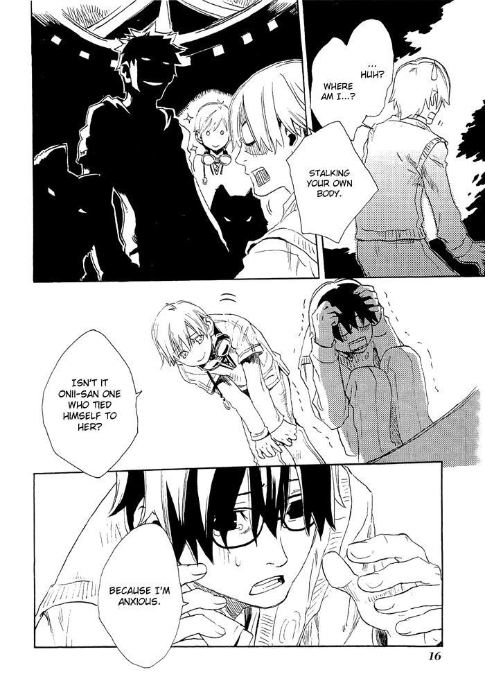 Harizuki Kagerou Enshimonogatari 8 Page 3