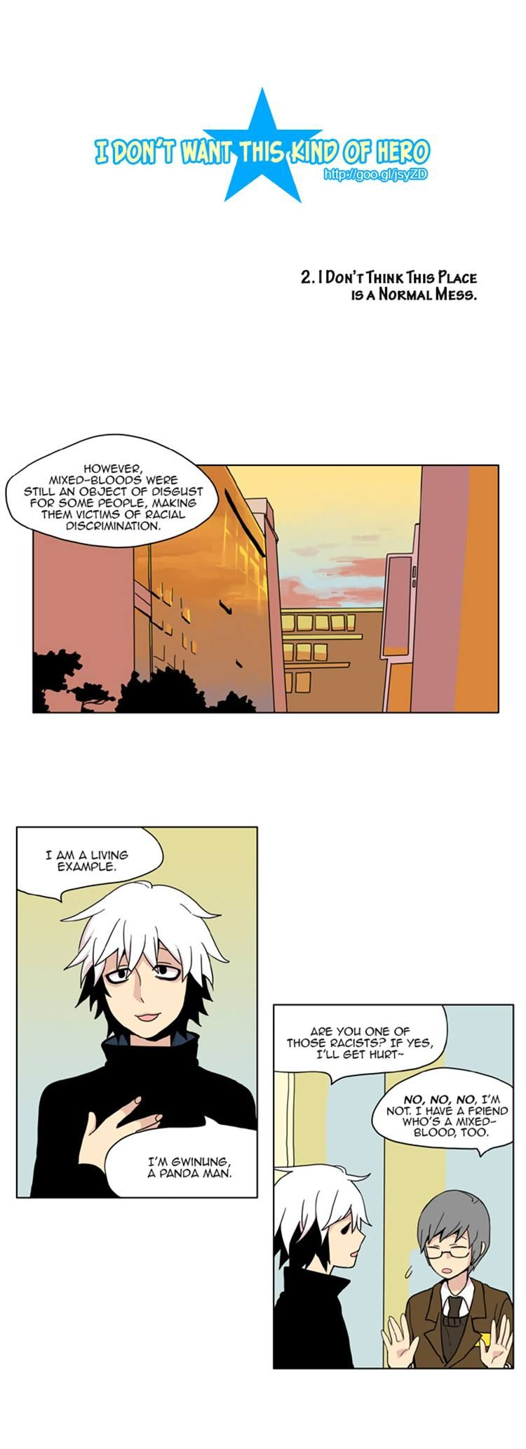 I Don't Want This Kind of Hero 2 Page 2