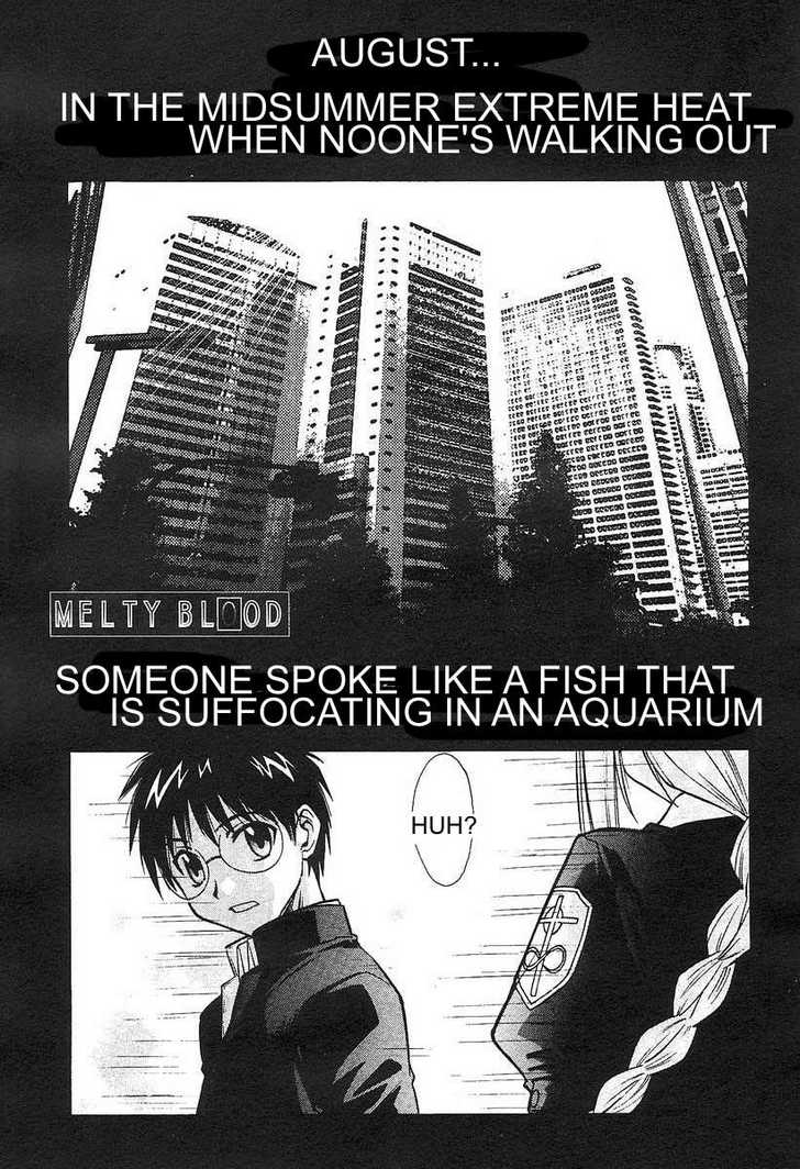Melty Blood 0 Page 1