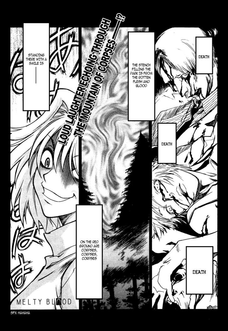Melty Blood 8 Page 1