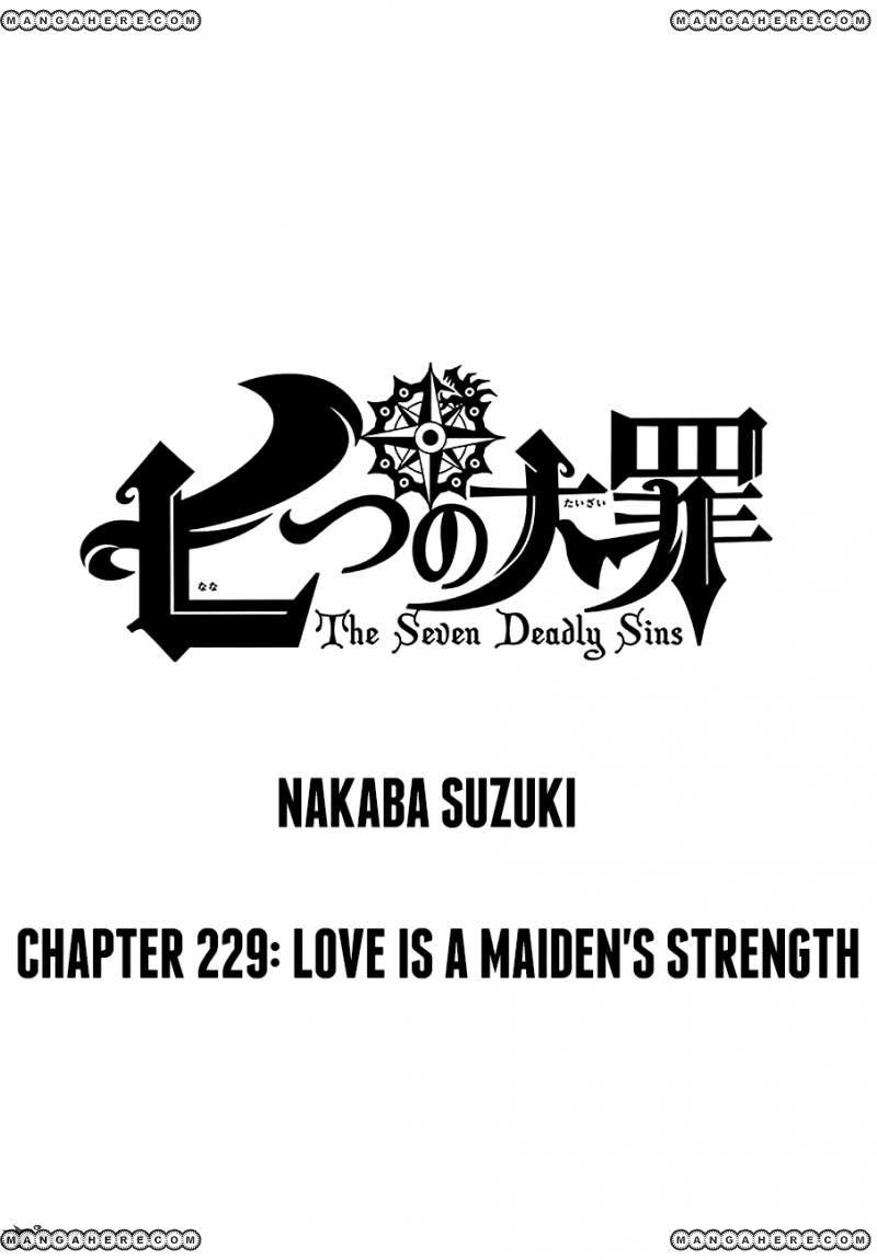 Nanatsu no Taizai 229 Page 1