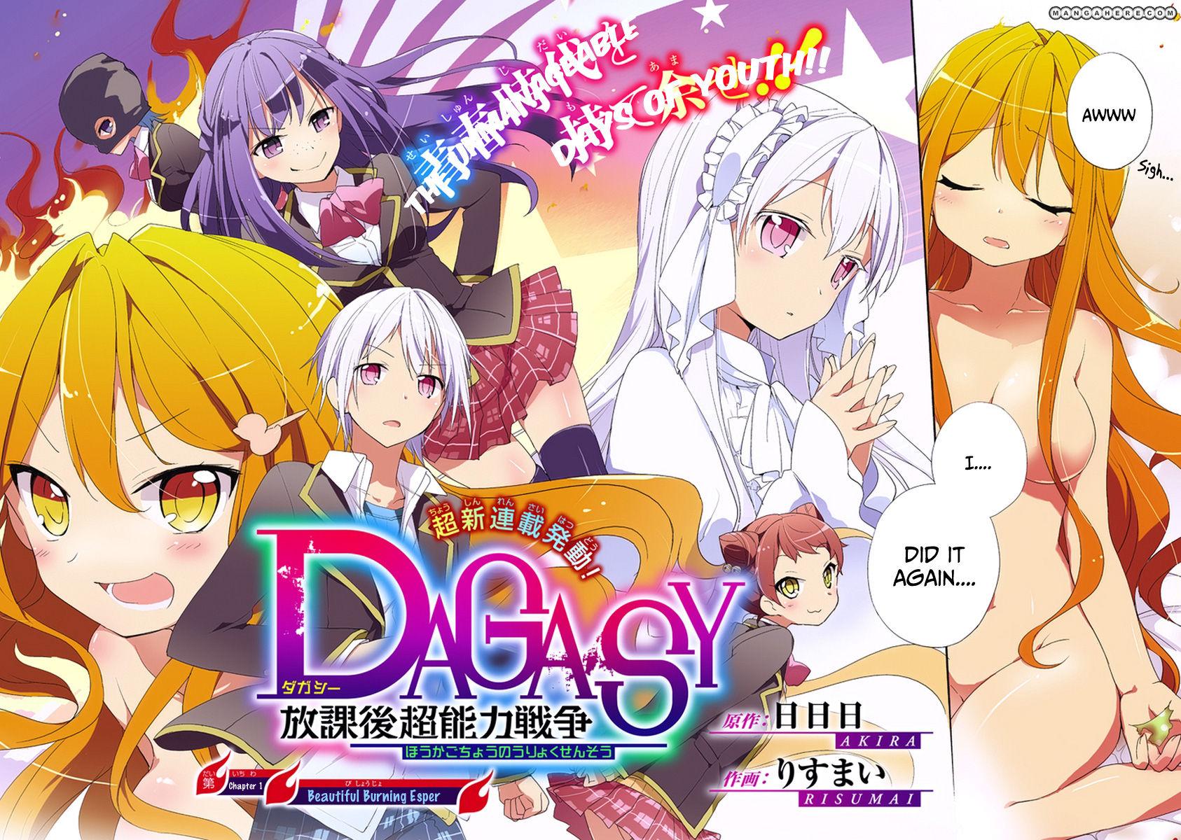 Dagasy - Houkago Chounouryoku Sensou 1 Page 3