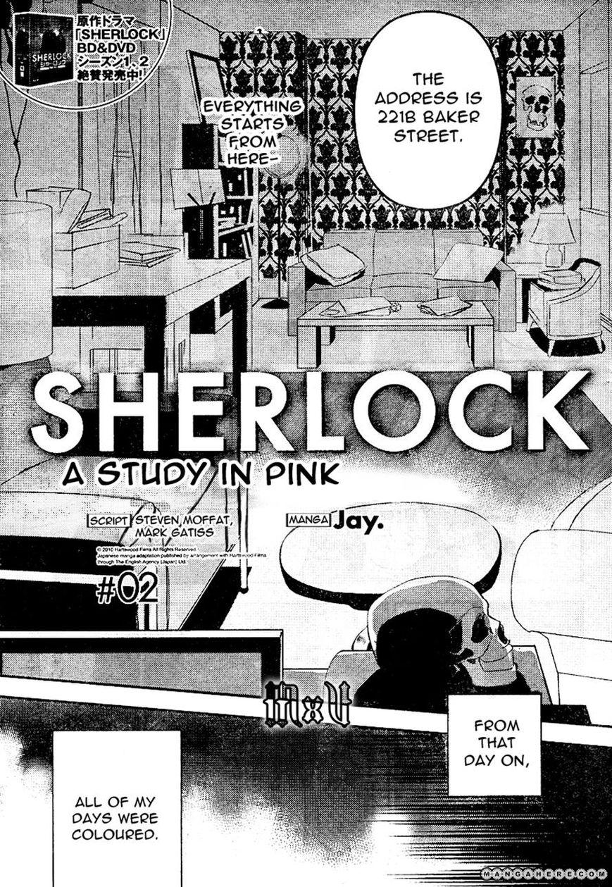 Sherlock - Pink Iro no Kenkyuu 2 Page 3
